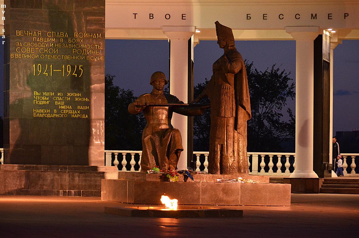 Памятник «Мать Мордовия» - Алексей