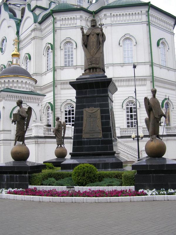 памятник святителю Митрофану - Анна Воробьева