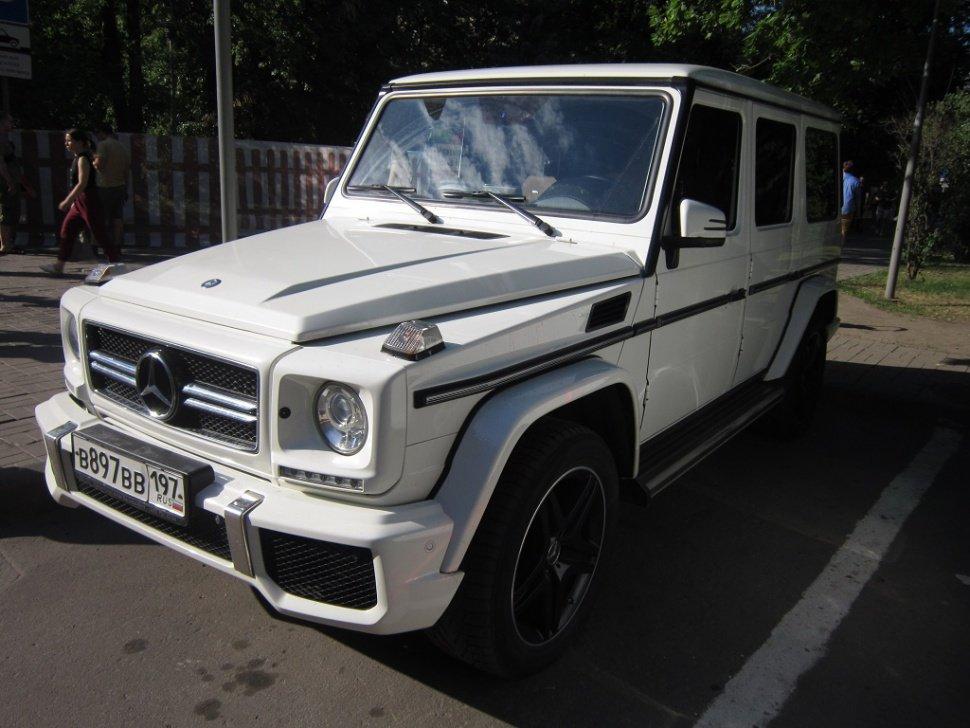Белый джип Mercedes - Дмитрий Никитин