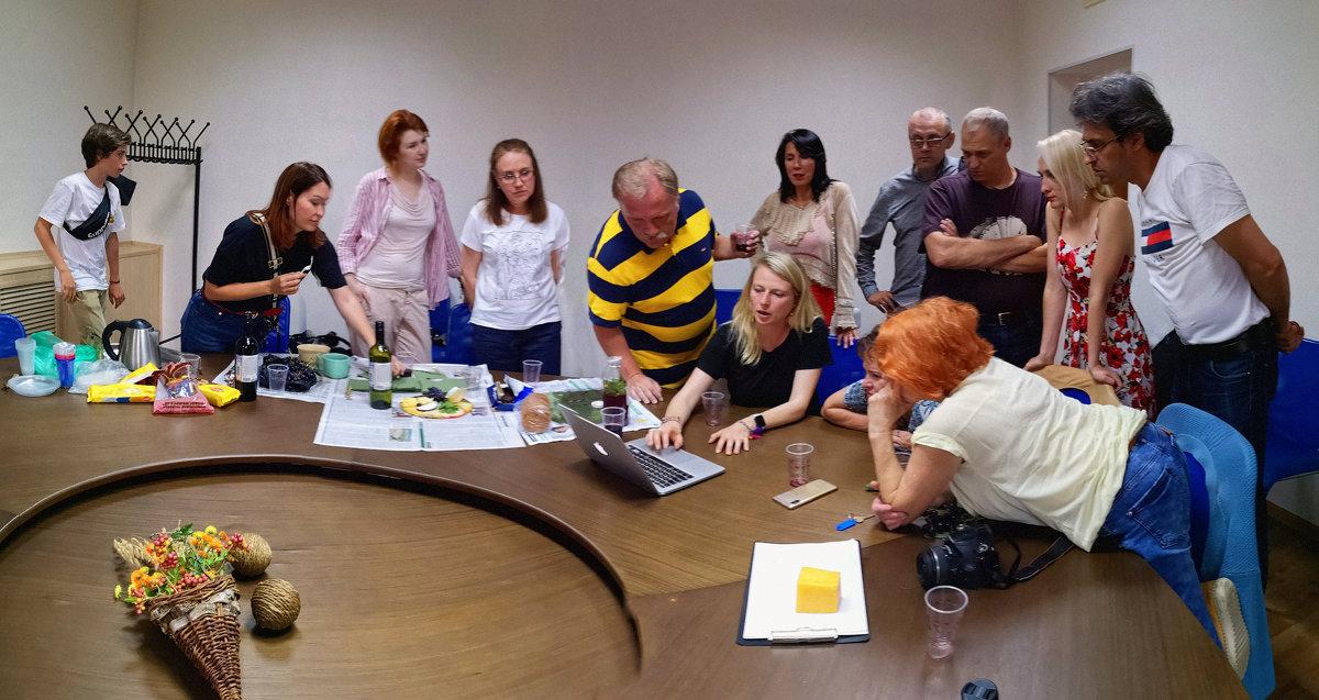 Алёна Жукова (Academy of Art University, California, USA), семинар о концептуальной фотографии - Андрей Пашис