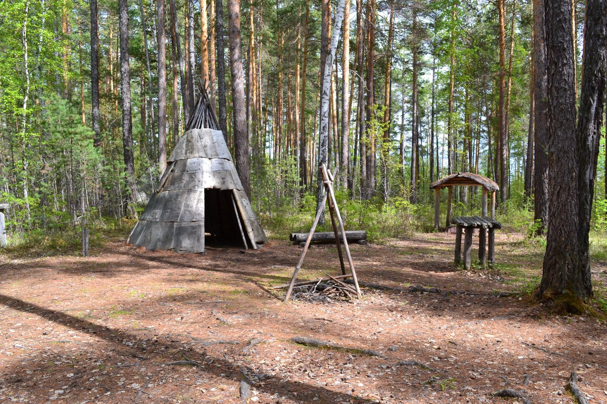 Эвенкийские деревни - Ольга