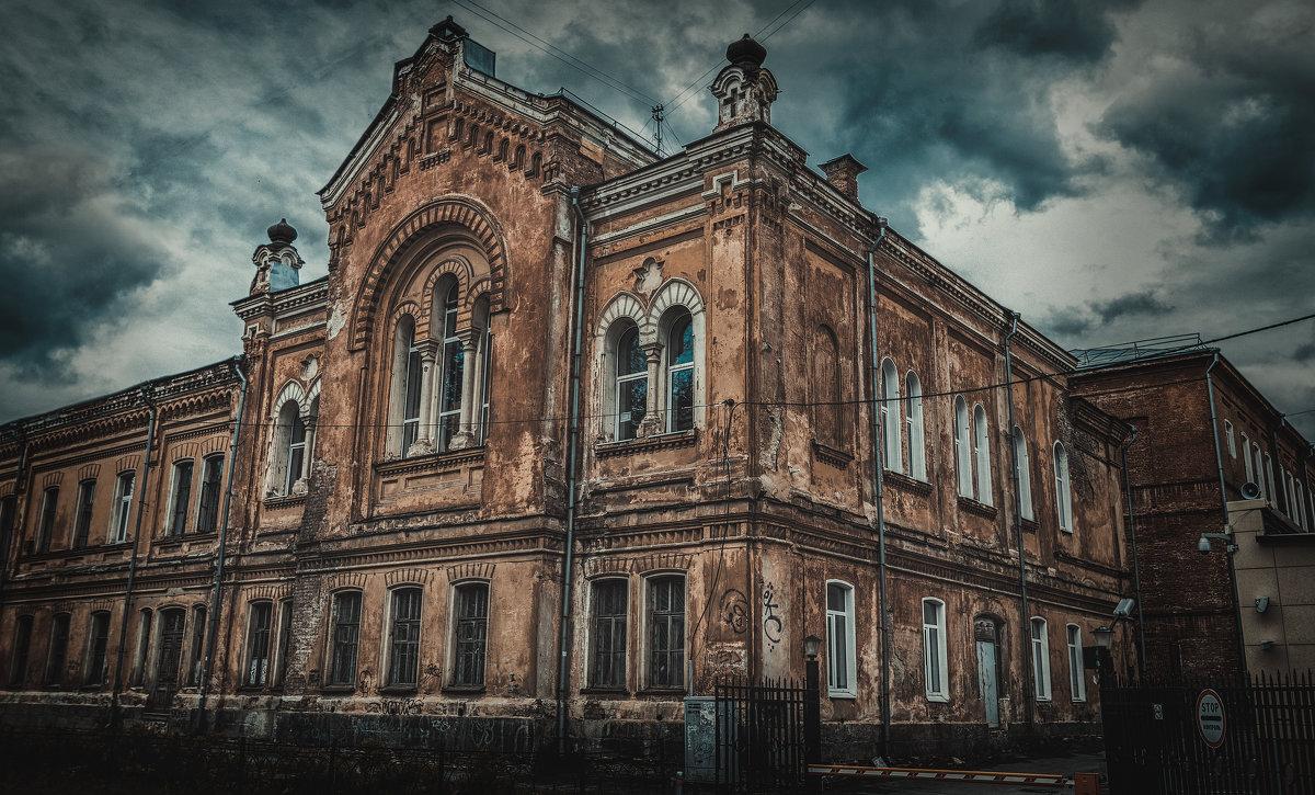 Здание пансиона и церкви Святой Магдалины при первой женской гимназии - Андрей Неуймин
