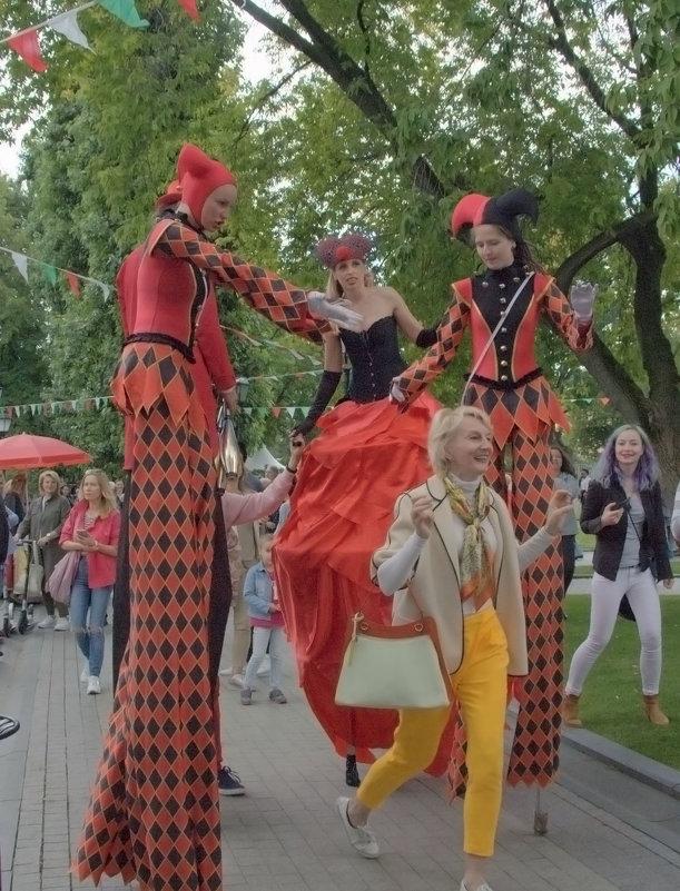 На фестивале - Татьяна Иванова