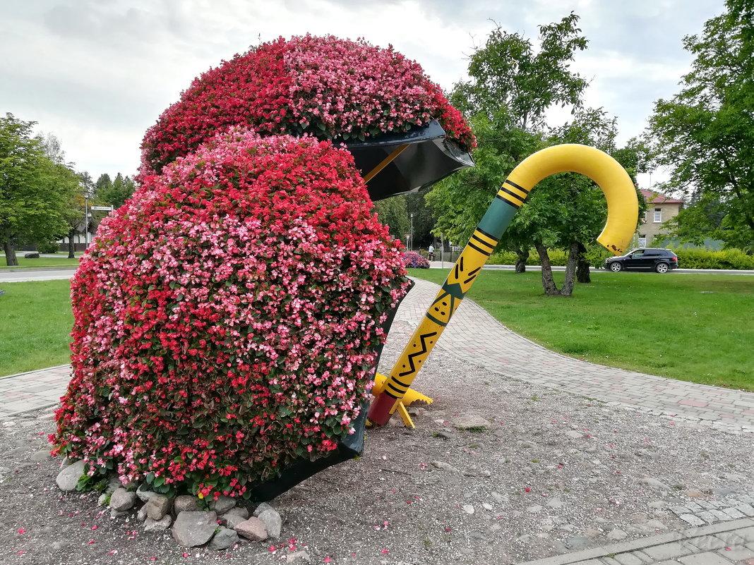 В парке Тростей цветочные зонтики - veera (veerra)