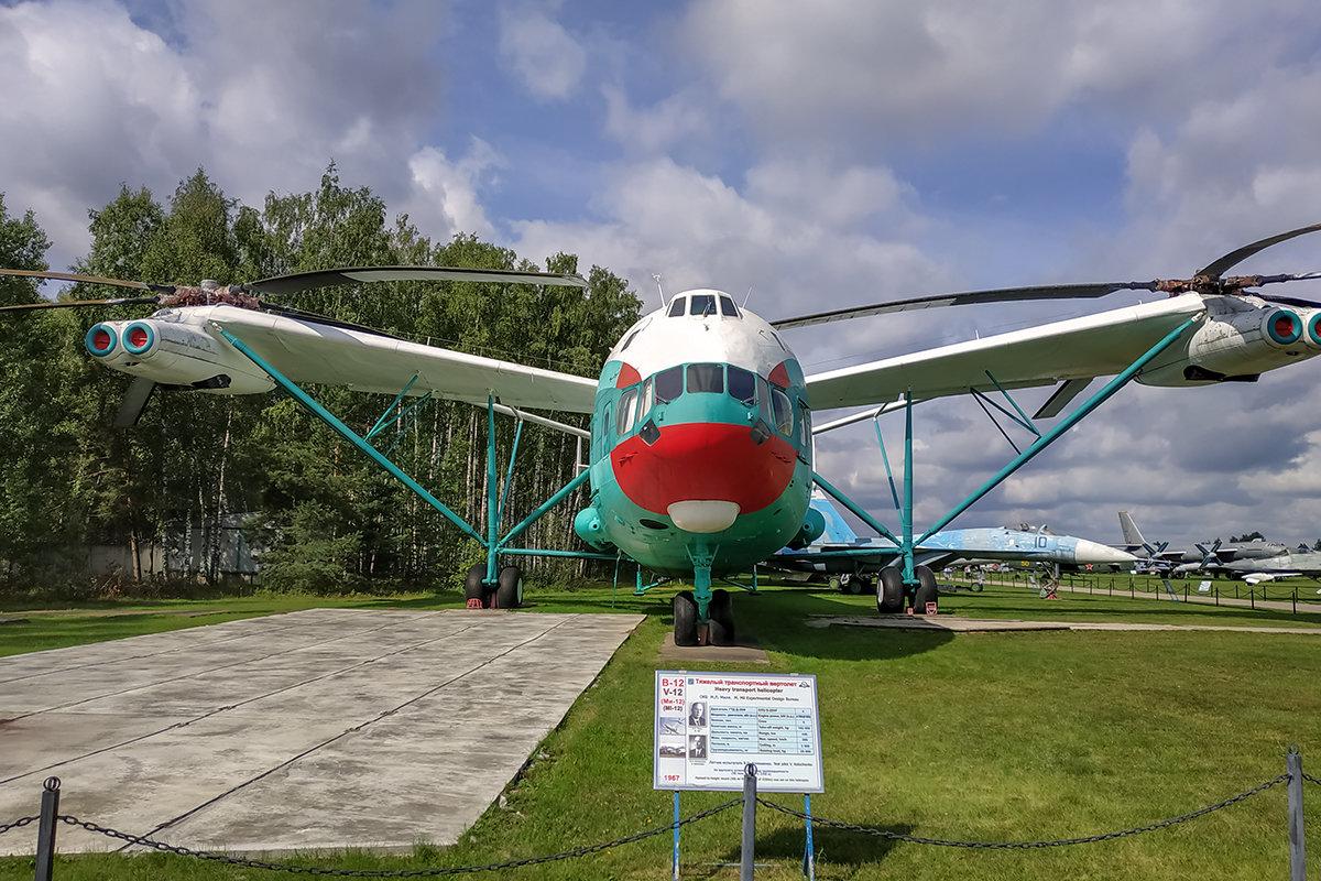 Тяжелый транспортный вертолет В -12 - Игорь Сикорский