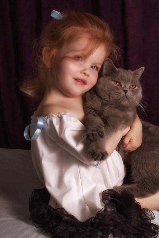 милая рыжеволосая девочка - Екатерина