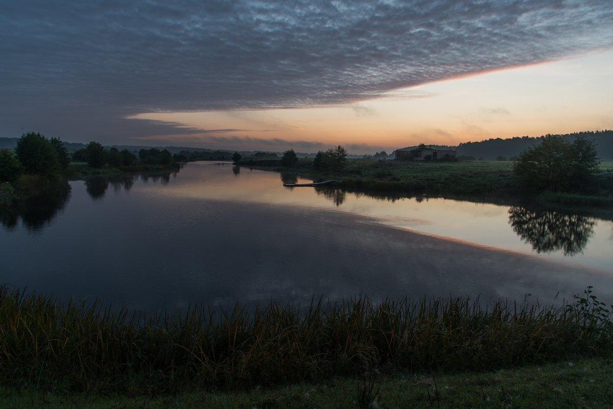 Ранним,сентябрьским утром на речке Буянке. - Виктор Евстратов
