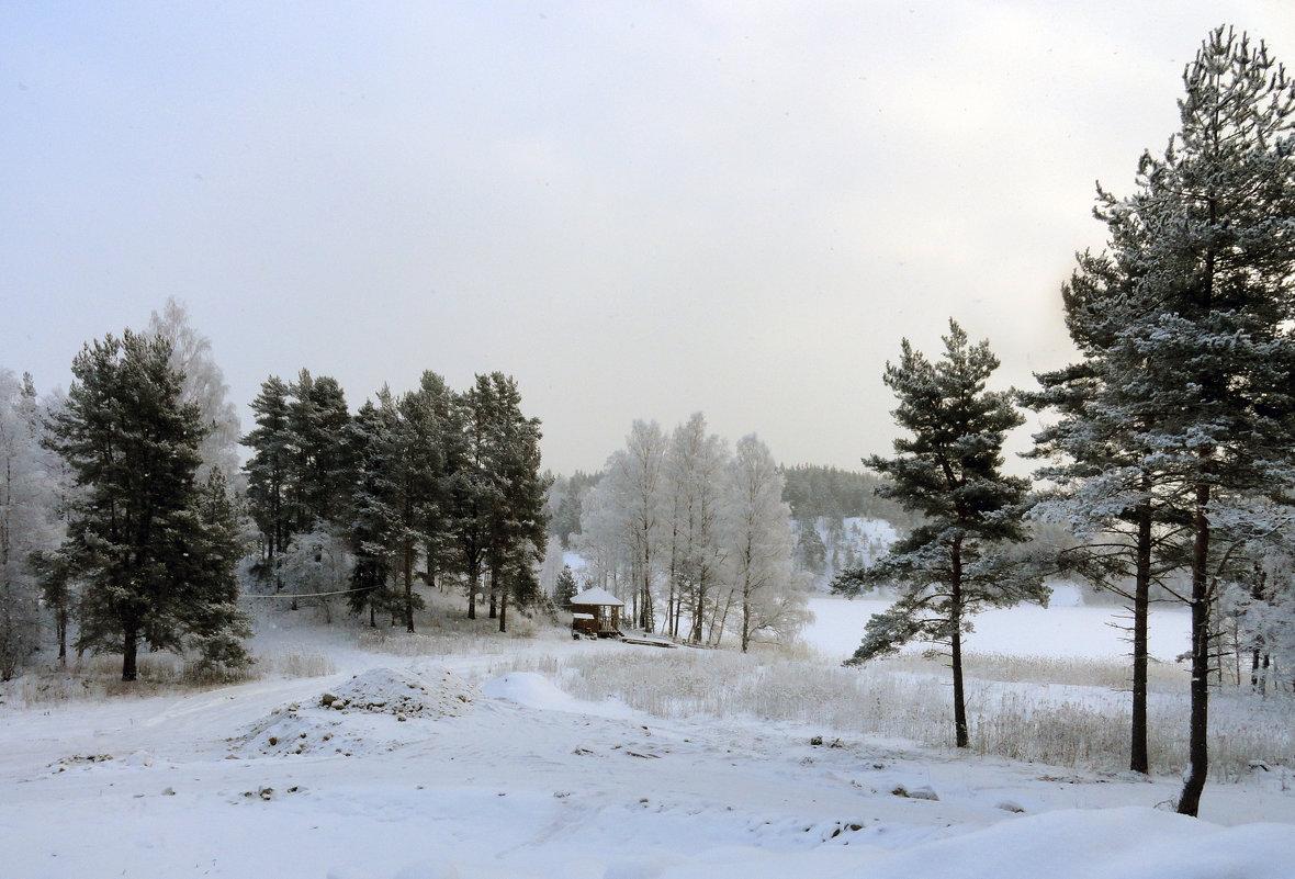 Зимний пейзаж - Vyacheslav Gordeev