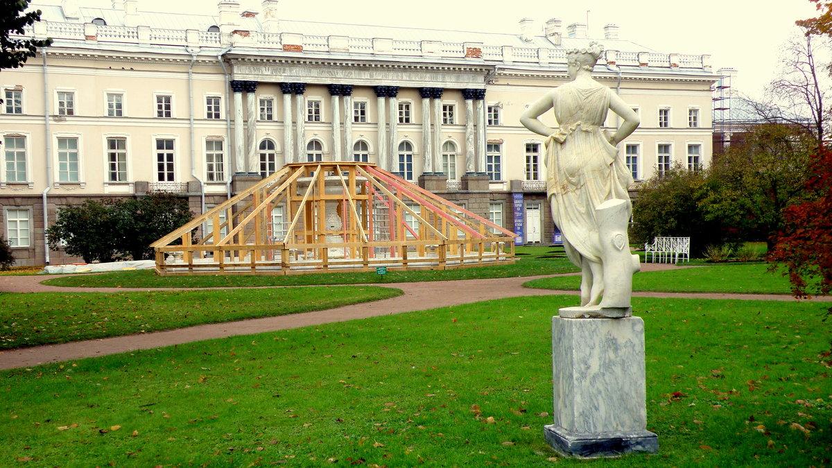 Парк готовится к зиме - 1 - Сергей