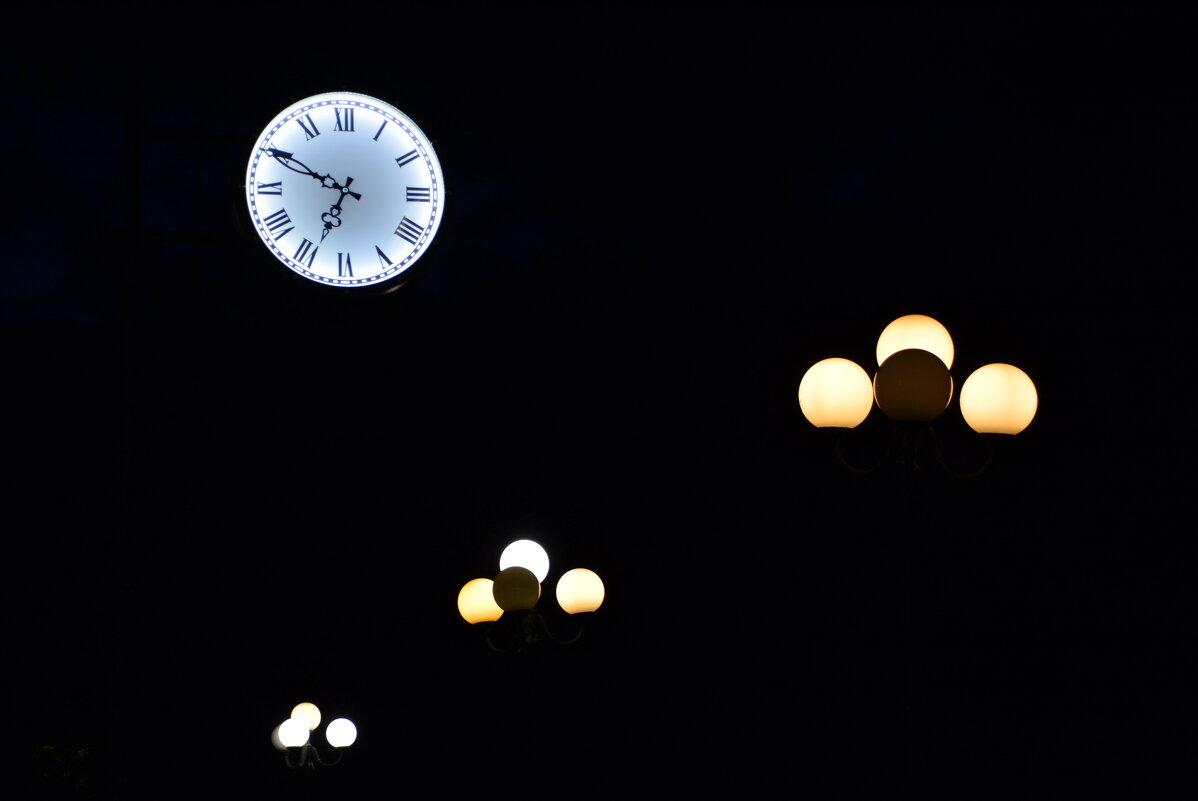 Вечер, улица, фонарь