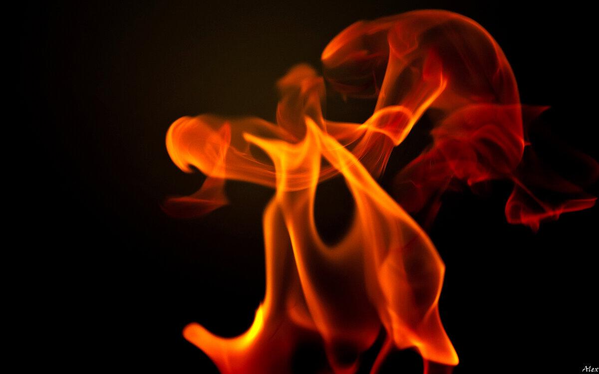 Зажигательный танец или 1/640 секунды из жизни огня - Alex .