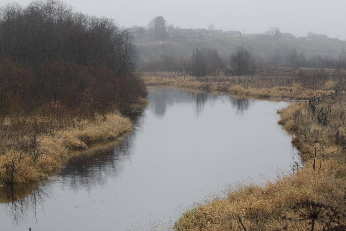 Осень,река. - Павел