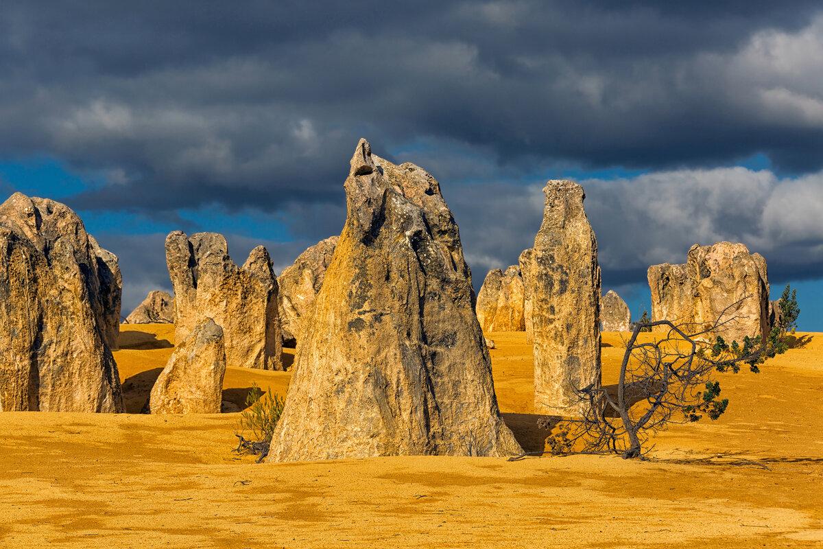 Архитектура пустыни Пиннаклс - slavado
