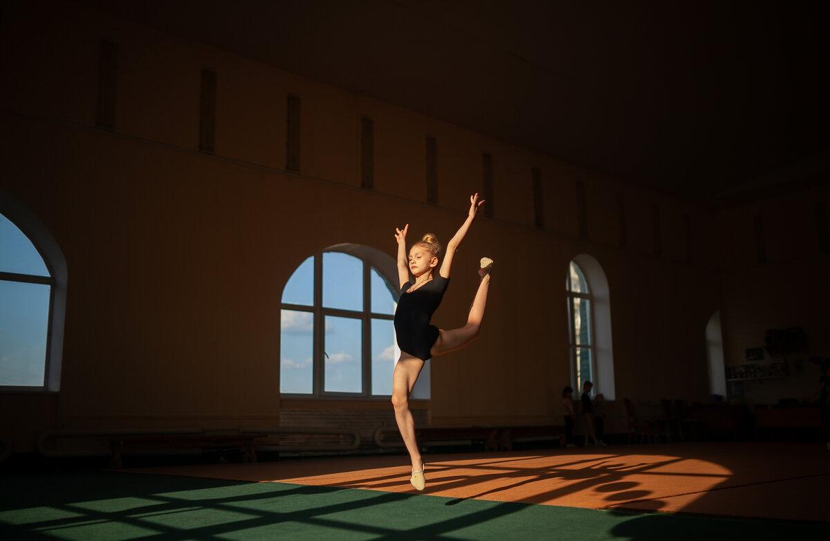 Гимнастка - Надежда Антонова
