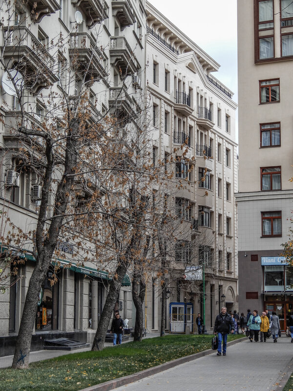 Новостройка в Ордынском тупике - Сергей Лындин