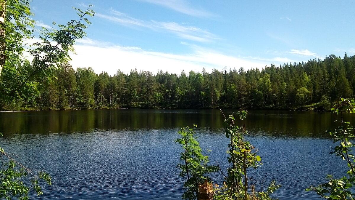 Красное (Белое) озеро - самое глубокое озеро Соловков - Елена Павлова (Смолова)