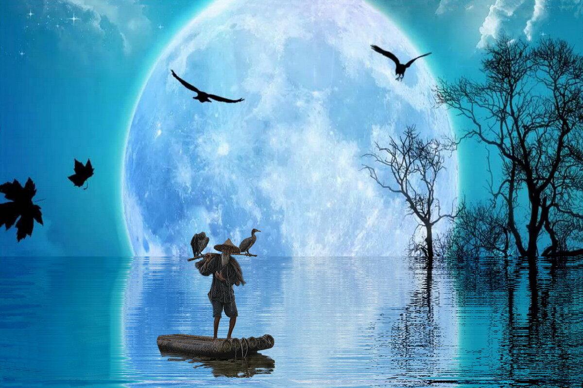 Голубая луна - irina Schwarzer