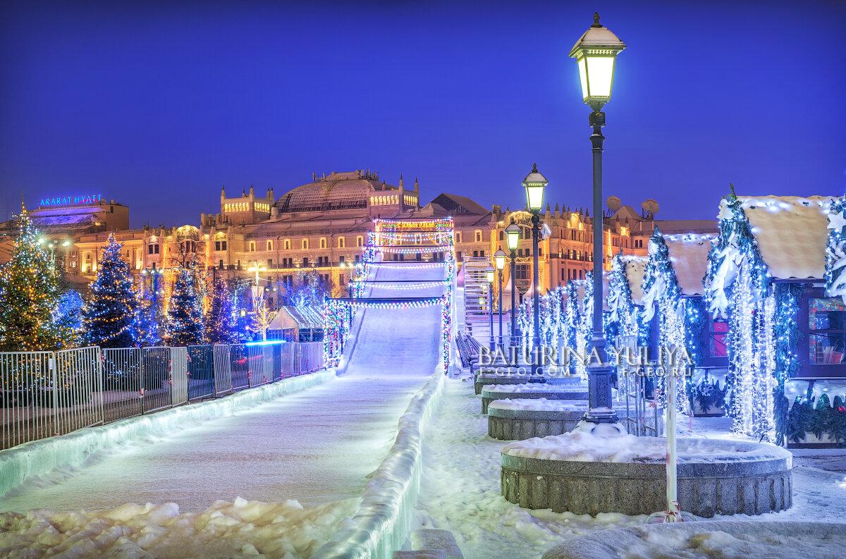 Новогодняя горка - Юлия Батурина