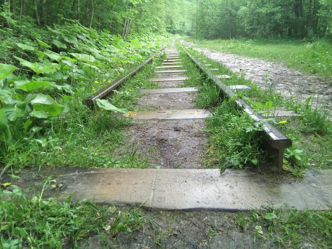 конец пути Гуамское ущелье Краснодарский край. - Серж Поветкин