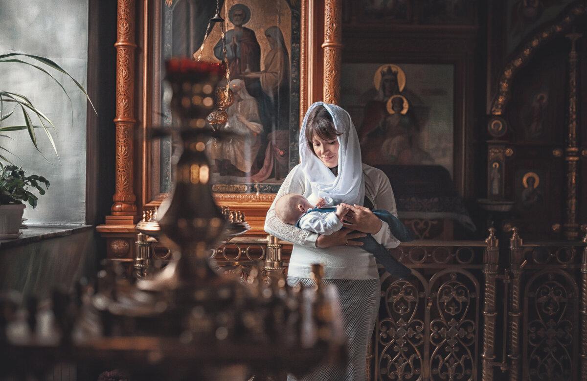 Таинство крещения - Надежда Антонова