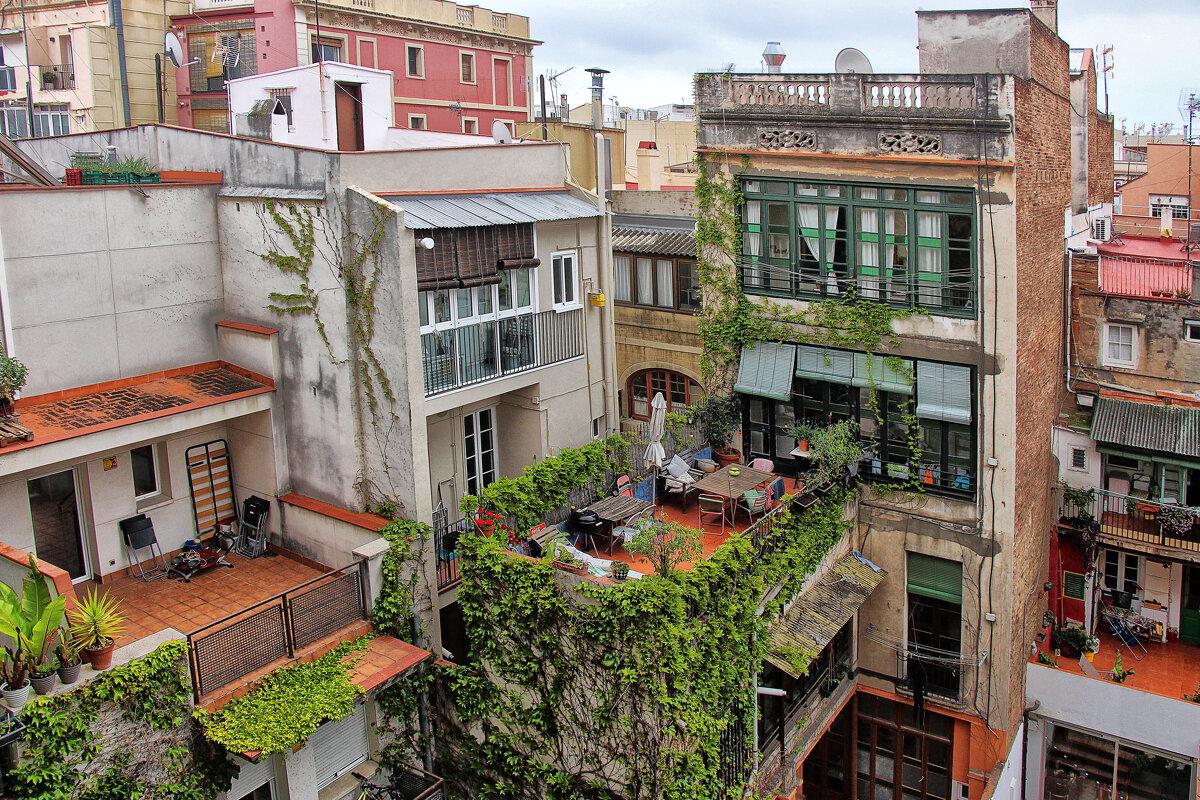 Барселонские крыши (3) - Nina Karyuk