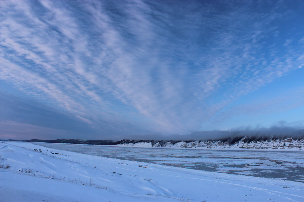 Вид на реку Лена - Александр Велигура