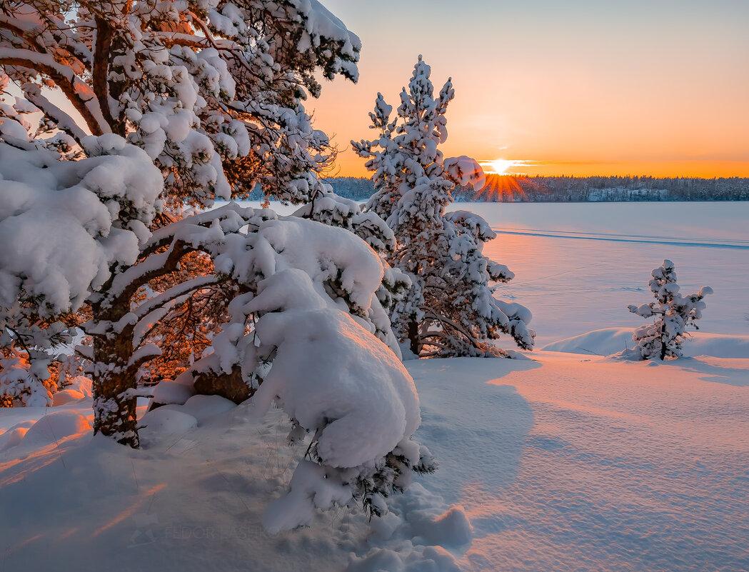 Карельская зима - Фёдор. Лашков