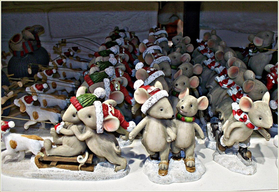 Новогодние мышки. - Валерия Комова
