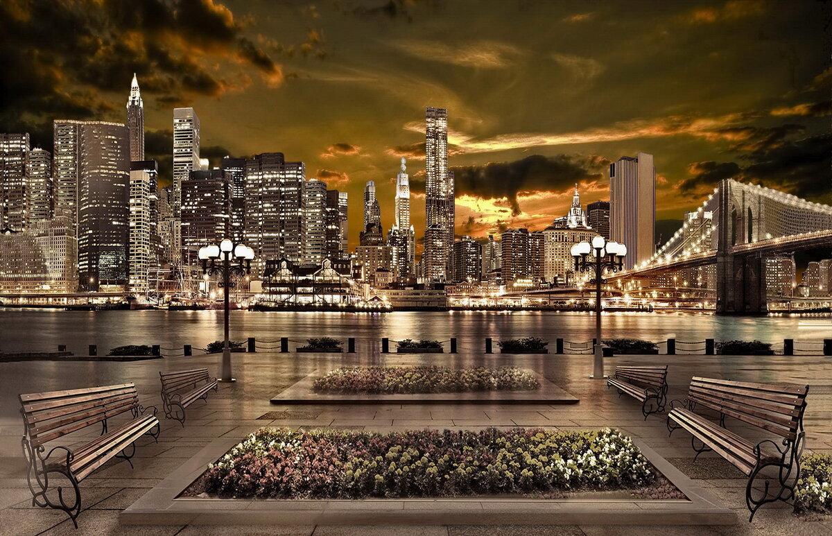 Нью- Йорк вечером - irina Schwarzer