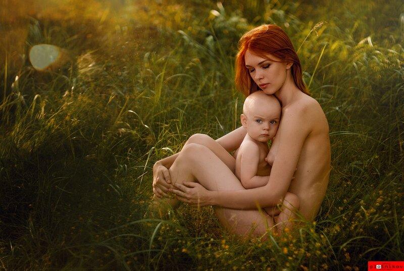 Мать и дитя. - Alex Plotnikov