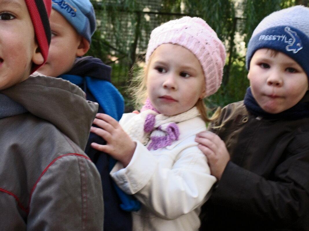 Детский сад на прогулке 2 - Рита Куприянова