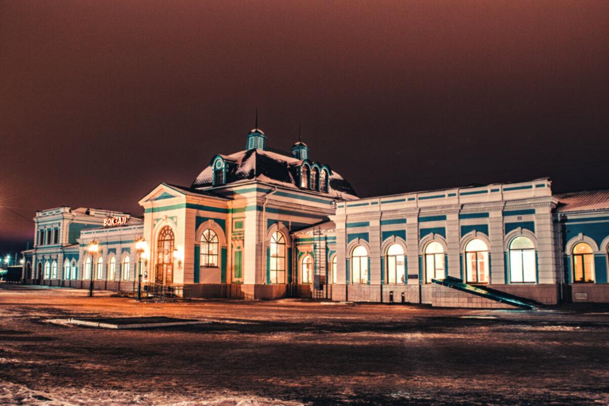 Железнодорожная станцыя Сызрань-1 - Сергей Осин