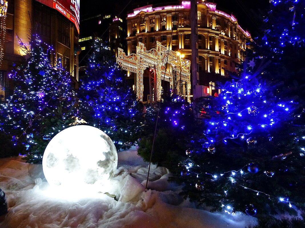 Новогодняя Москва - Лидия Бусурина