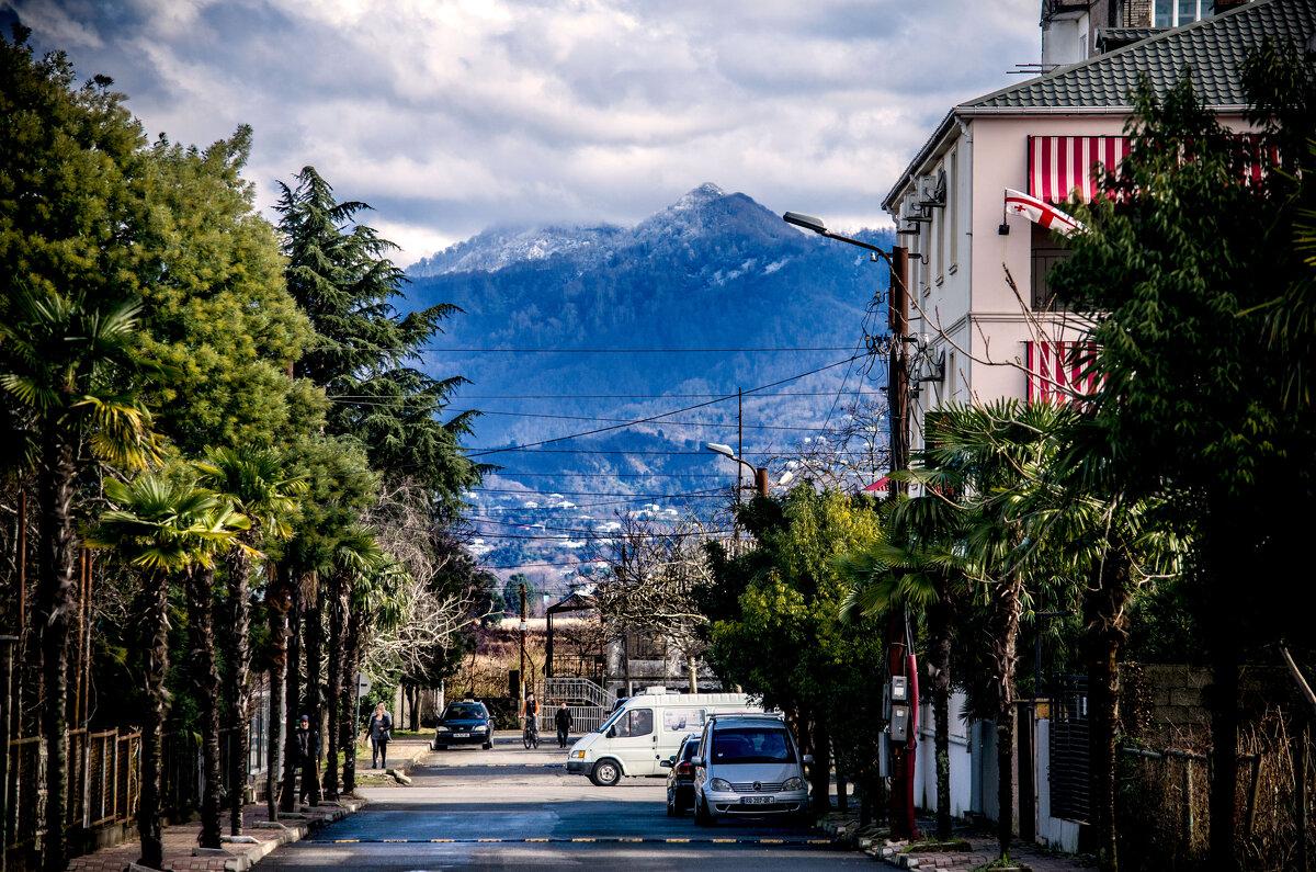 Tabidze Street. Kobuleti. - BY theSEA