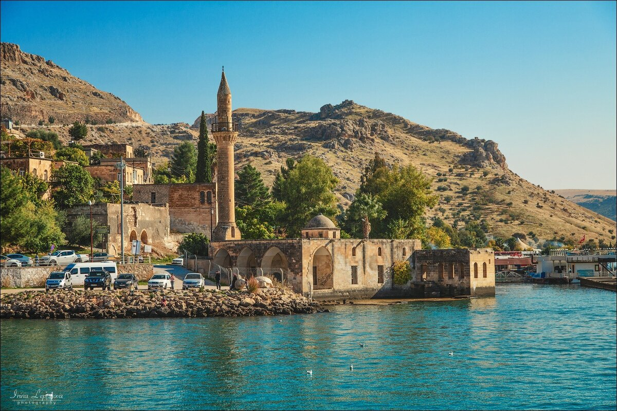 Затопленная мечеть на реке Евфрат, Турция - Ирина Лепнёва