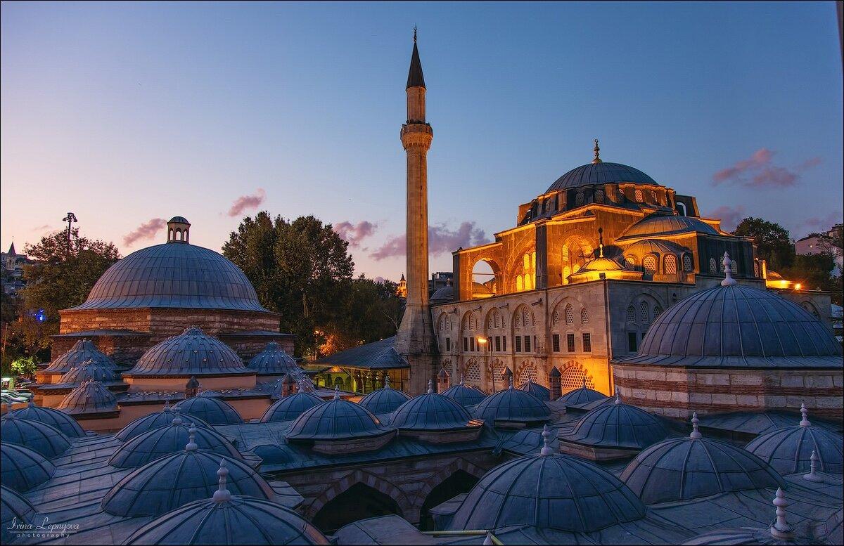Мечеть Кылыч Али паши в Каракёе. Стамбул - Ирина Лепнёва