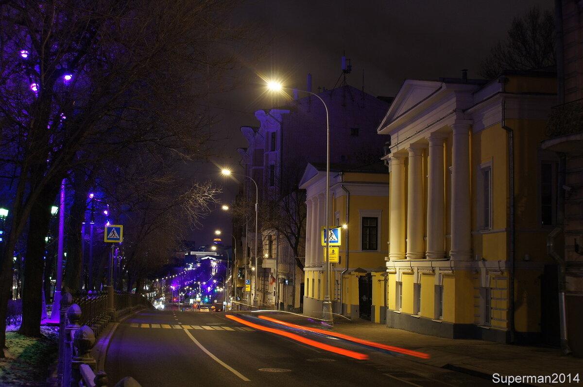Ночная Москва - Superman 2014