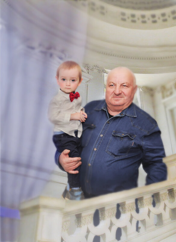 Дедушкин принц - Филипп Махов