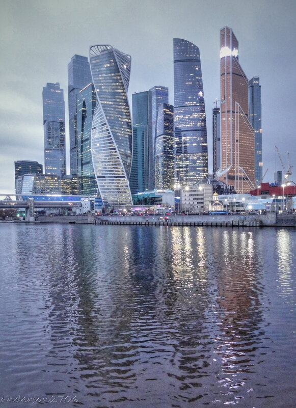 Москва-Сити - anderson2706