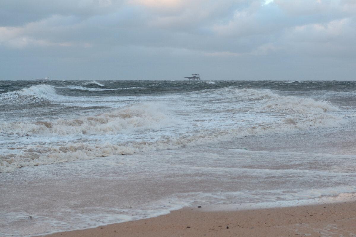 Шторм на Азовском море - Александра nb911 Ватутина