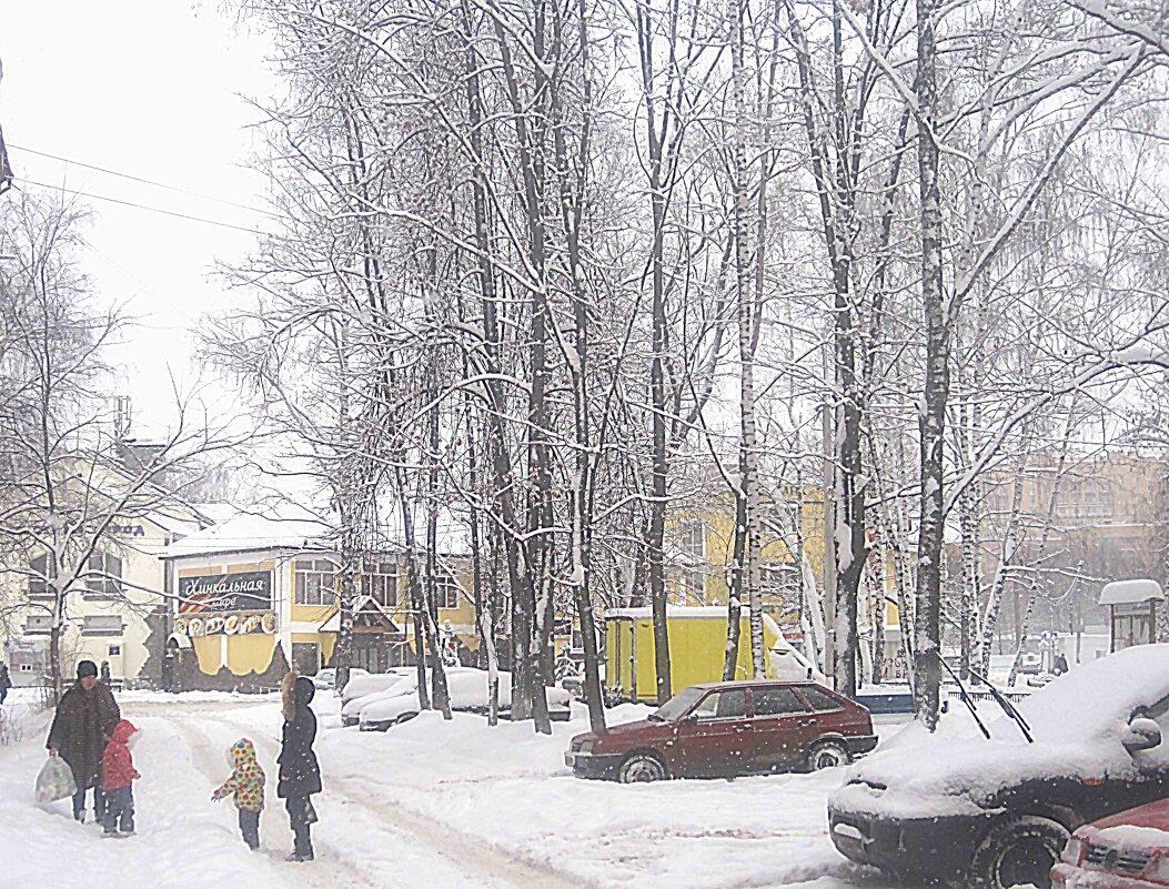 Посмотри какой снег... - Елена Семигина