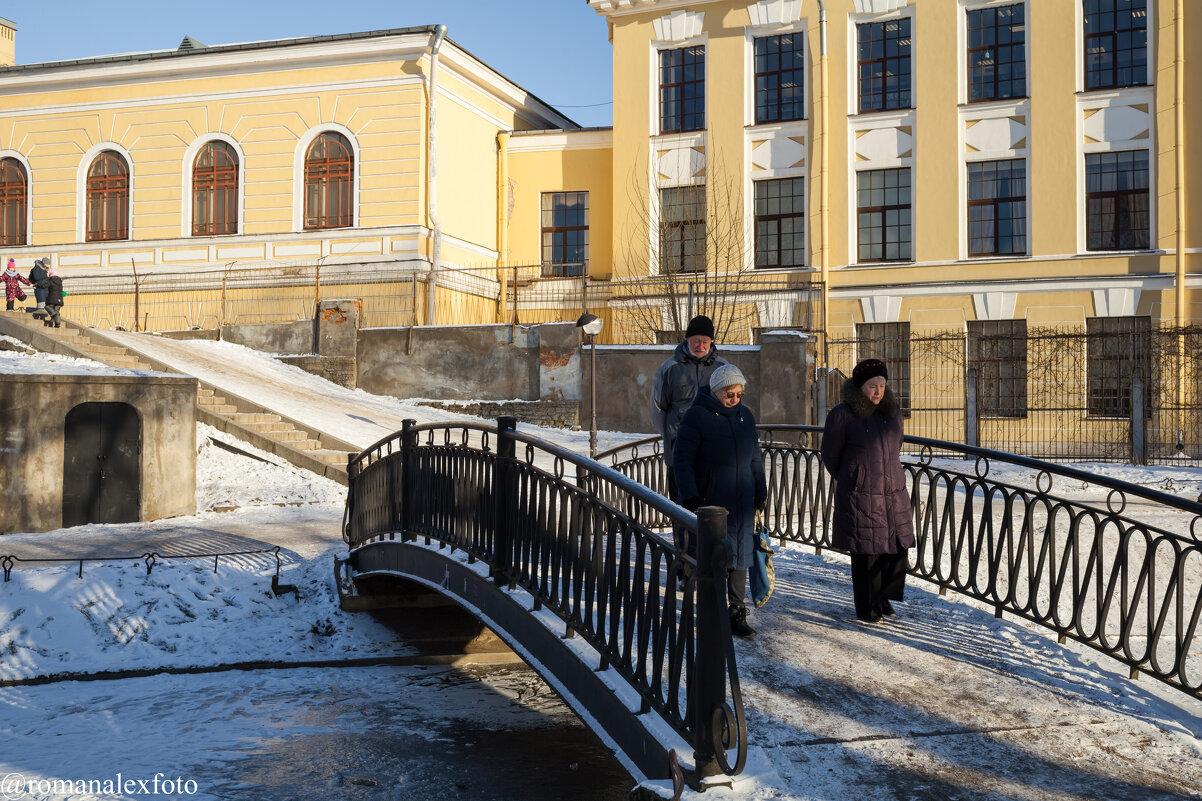 Прогулка в Юсуповском саду - Роман Алексеев