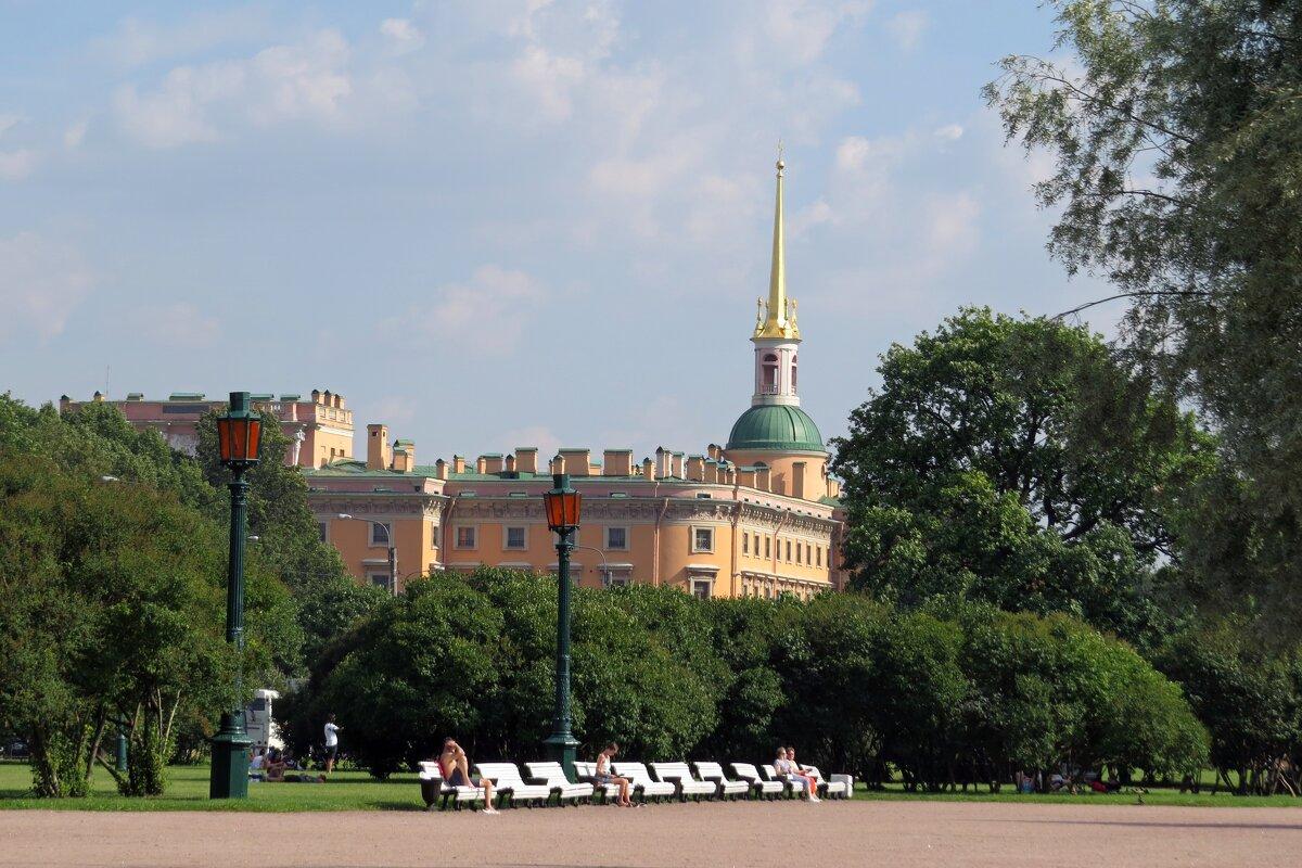 Михайловский замок - Вера Щукина