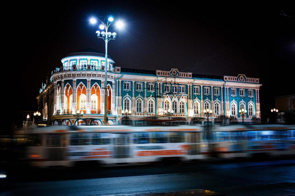 Вечерний транвай... или трамвай?)) - Игорь Лариков