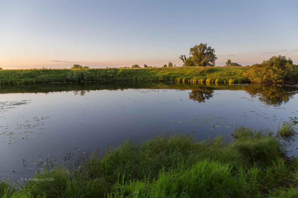 Закат на реке - Александр Синдерёв
