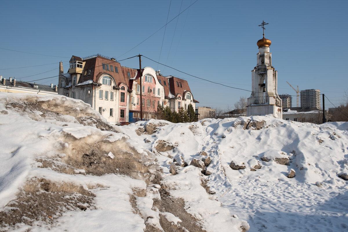 Городской ландшафт - Валерий Михмель