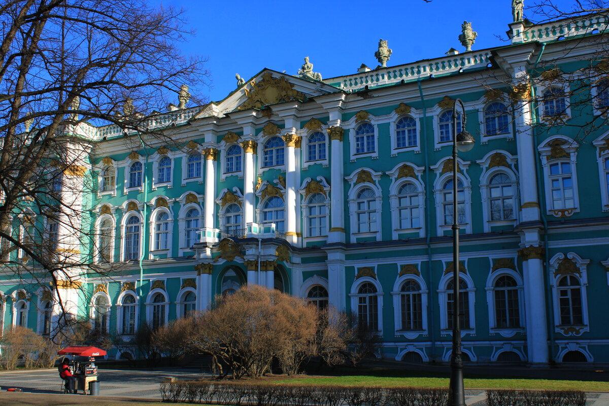 Эрмитаж вид из сада Зимнего дворца. - веселов михаил