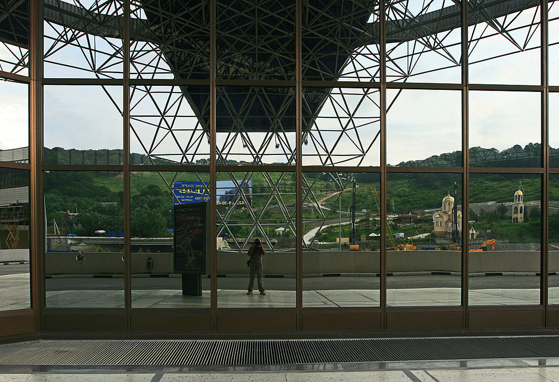 Вид из аэропорта Адлер - Зуев Геннадий
