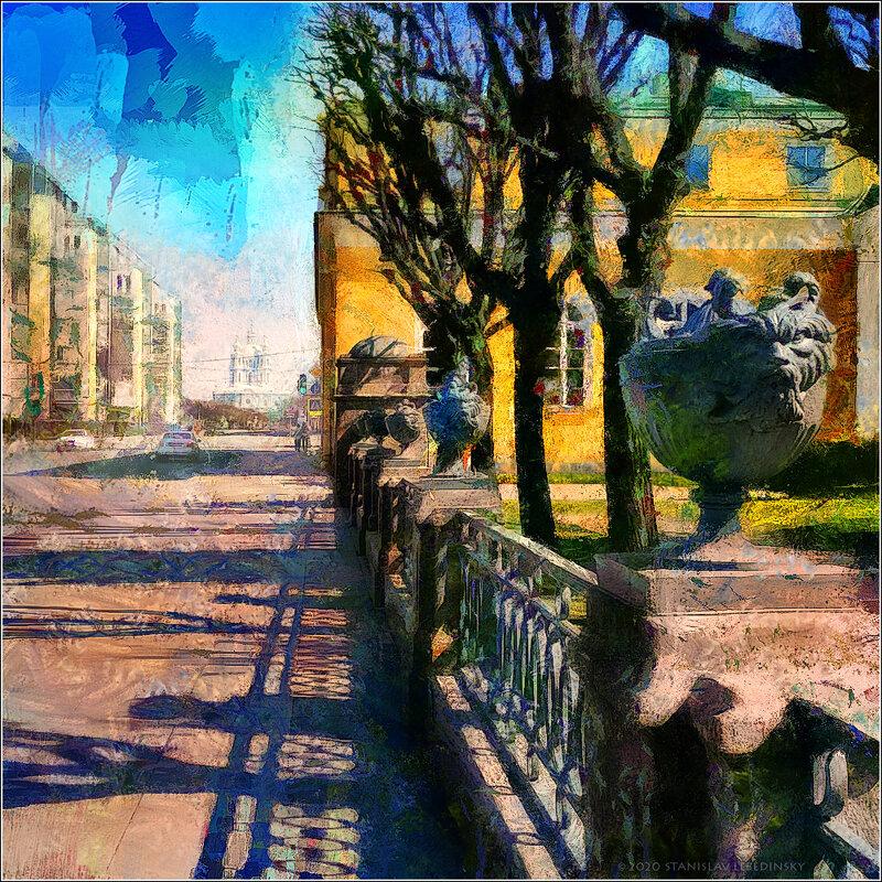 My magic Petersburg_03625_ Шпалерная улица - Станислав Лебединский