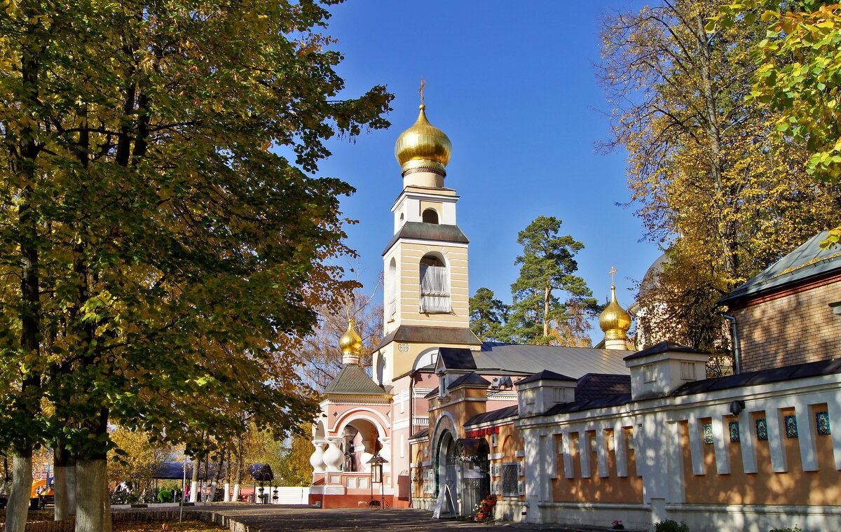 Храм Преображения Господня (вспоминая осень) - Елена Кирьянова